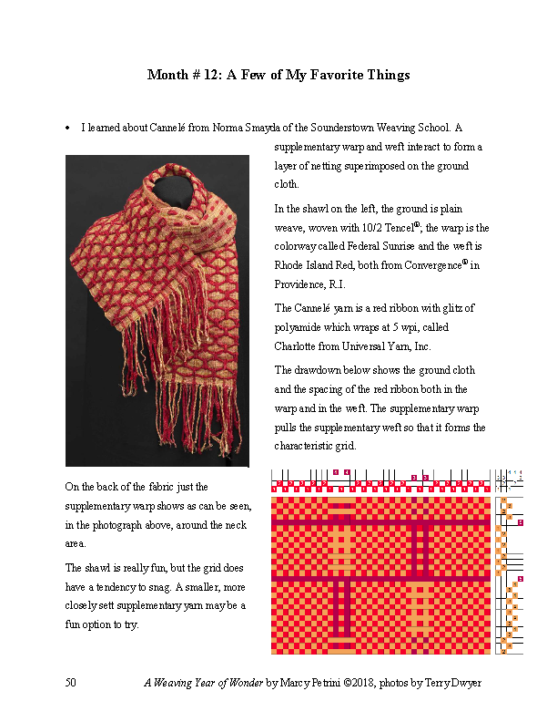 A Weaving Year of Wonder - as an eBook - Click Image to Close